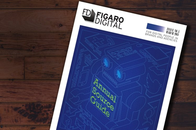 Strange designs Figaro Digital's Annual Source Guide cover